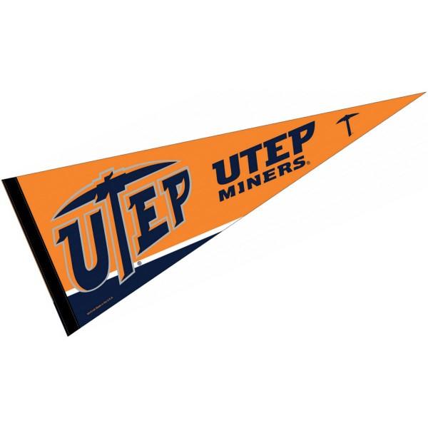 Texas El Paso UTEP Pennant