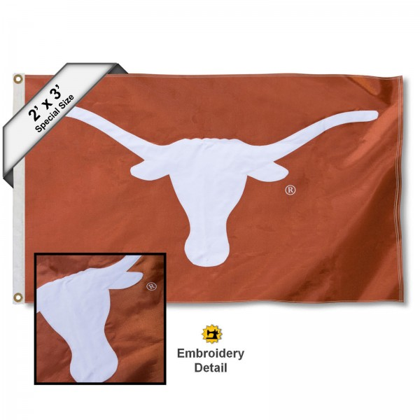 Texas Longhorns 2x3 Flag