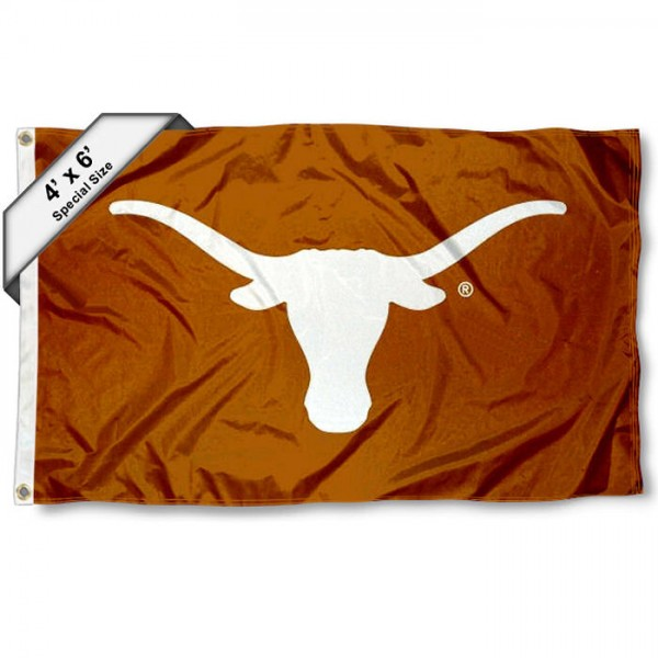 Texas Longhorns 4'x6' Flag