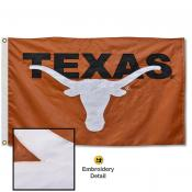 Texas Longhorns Appliqued Nylon Flag