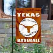 Texas Longhorns Baseball Garden Flag