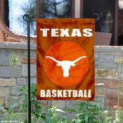 Texas Longhorns Basketball Garden Flag