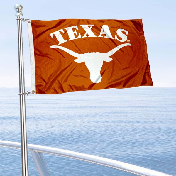 Texas Longhorns Boat Flag