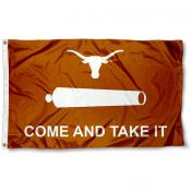 Texas Longhorns Come and Take It 3x5 Flag