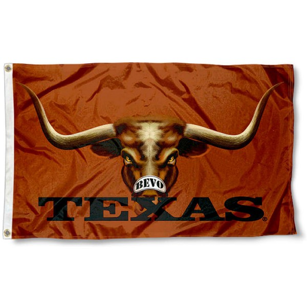 Texas Longhorns Eyes Flag