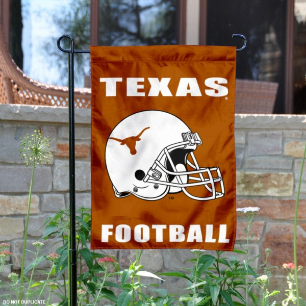 Texas Longhorns Football Garden Flag