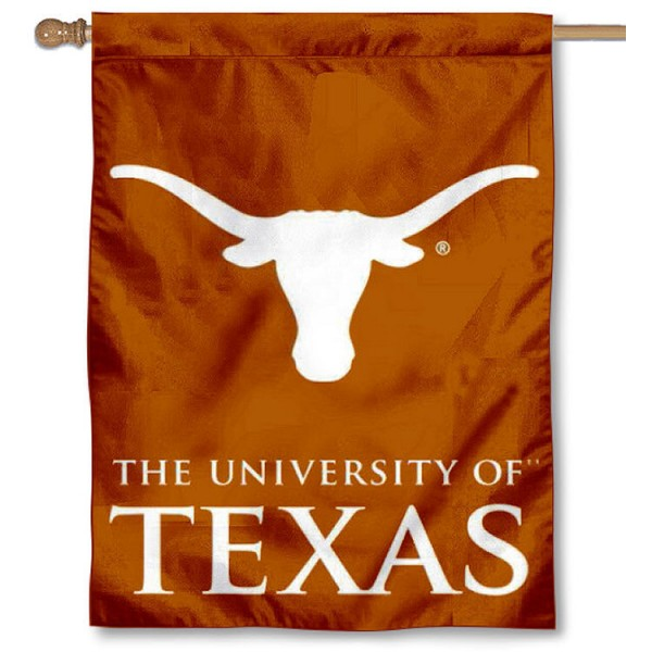 Texas Longhorns House Flag