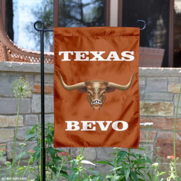 Texas Longhorns Mascot Garden Flag