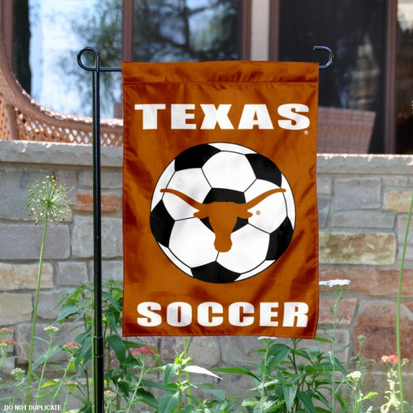 Texas Longhorns Soccer Garden Flag