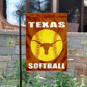 Texas Longhorns Softball Garden Flag