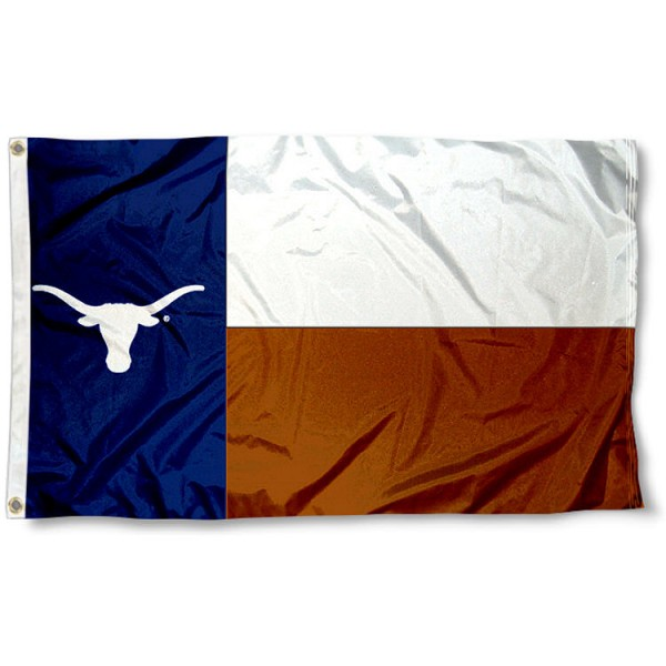Texas Longhorns State Flag