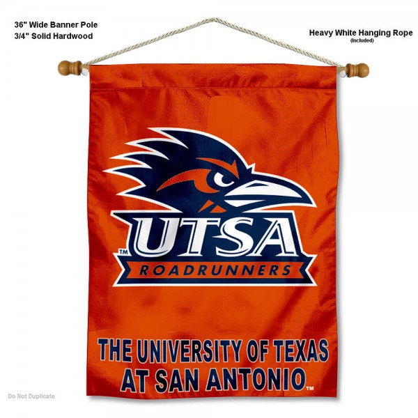 Texas San Antonio Roadrunners Wall Hanging