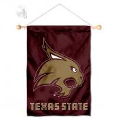 Texas State Bobcats Small Wall and Window Banner