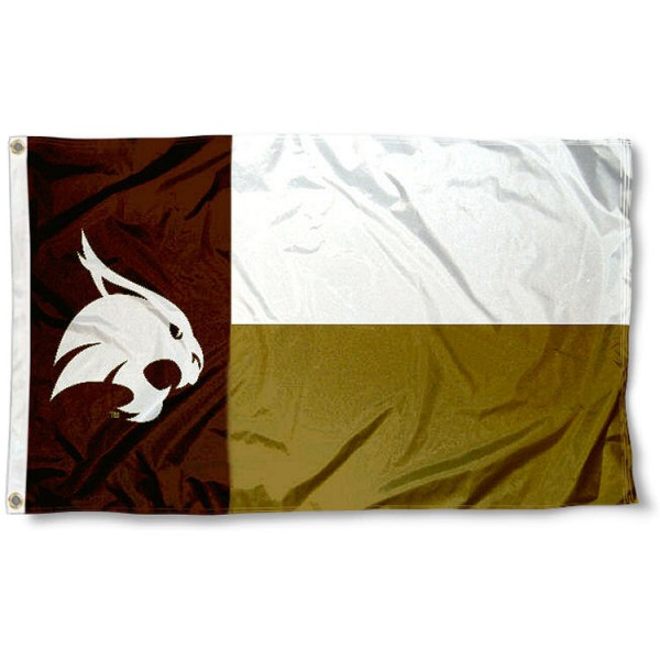 Texas State Bobcats State Flag
