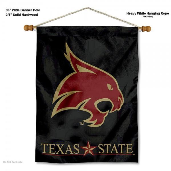 Texas State Bobcats Wall Hanging