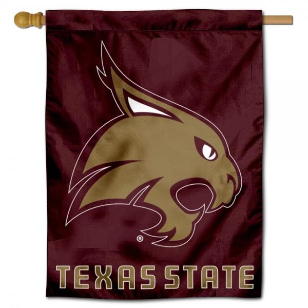 Texas State University House Flag