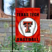 Texas Tech Baseball Garden Flag