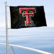 Texas Tech Boat Flag