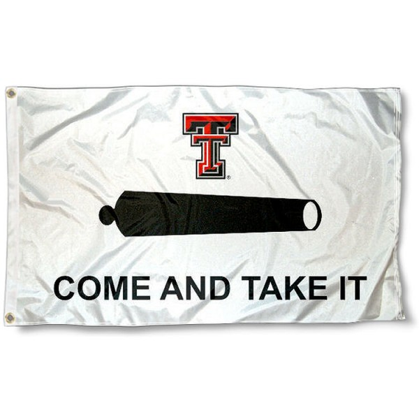Texas Tech Come and Take It 3x5 Flag
