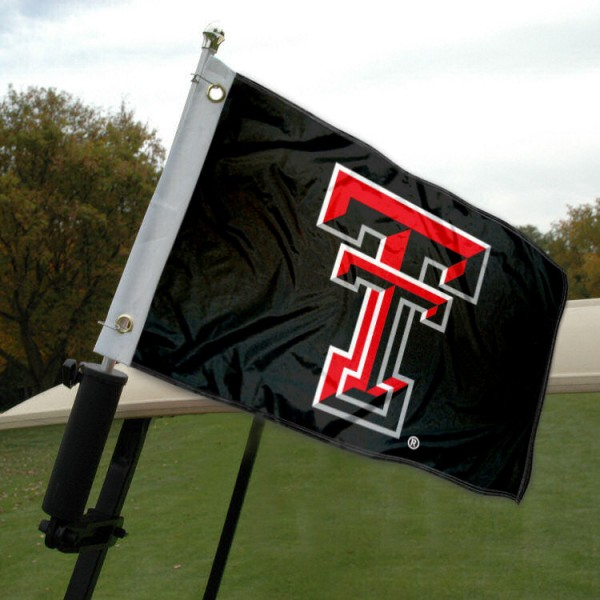 Texas Tech Golf Cart Flag