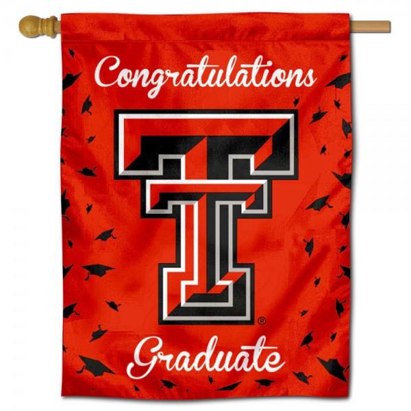 Texas Tech Graduation Banner
