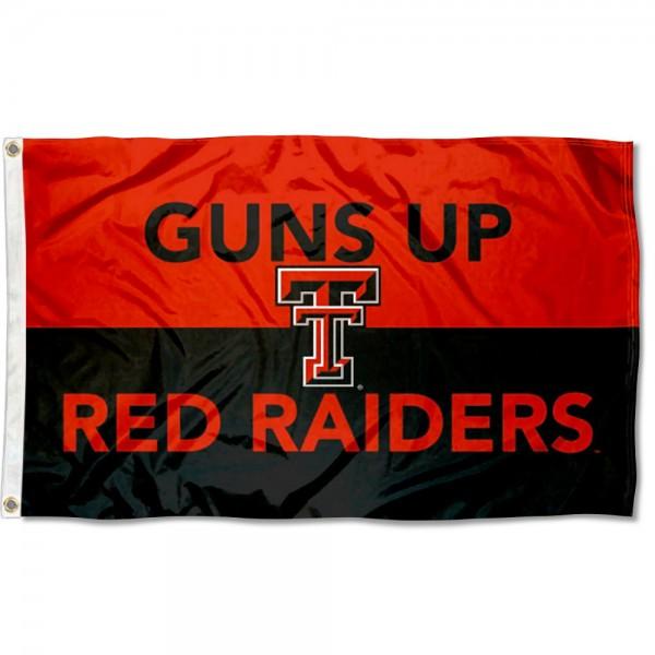 Texas Tech Guns Up Outdoor Flag