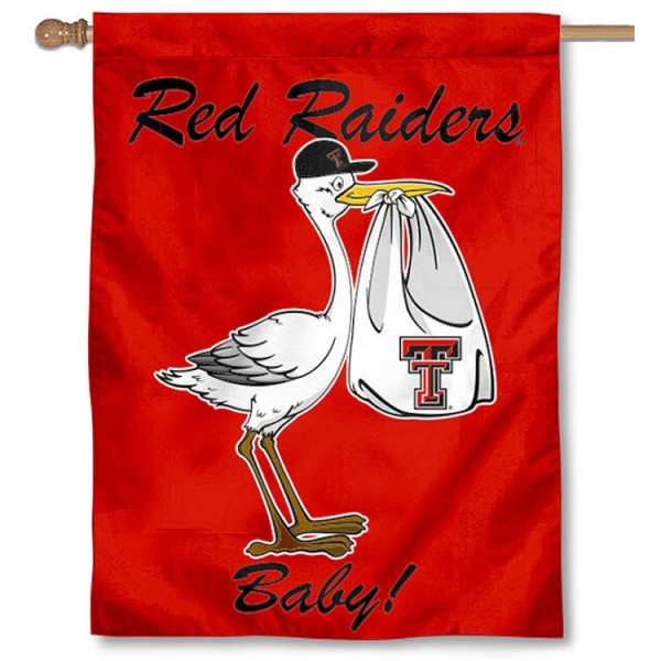 Texas Tech New Baby Banner