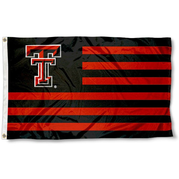 Texas Tech Red Raider Nation Flag