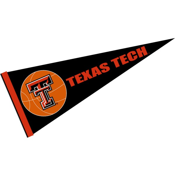 Texas Tech Red Raiders Basketball Pennant