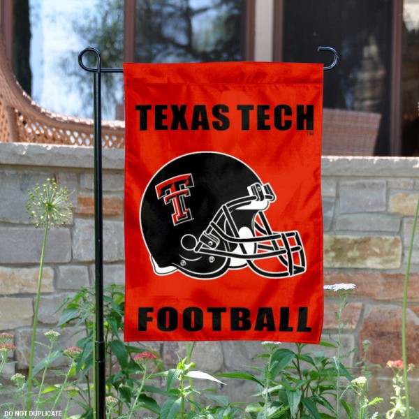 Texas Tech Red Raiders Football Garden Flag