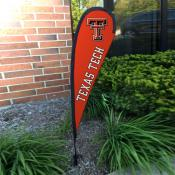 Texas Tech Red Raiders Mini Teardrop Garden Flag