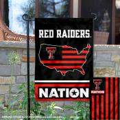 Texas Tech Red Raiders Nation Garden Flag