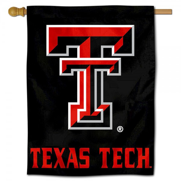 Texas Tech Red Raiders Polyester House Flag