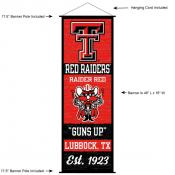 Texas Tech Red Raiders Wall Banner and Door Scroll