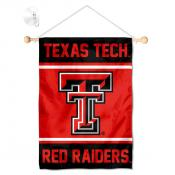 Texas Tech Red Raiders Window Hanging Banner with Suction Cup