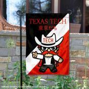 Texas Tech Red Raiders Yuru Chara Tokyo Dachi Garden Flag