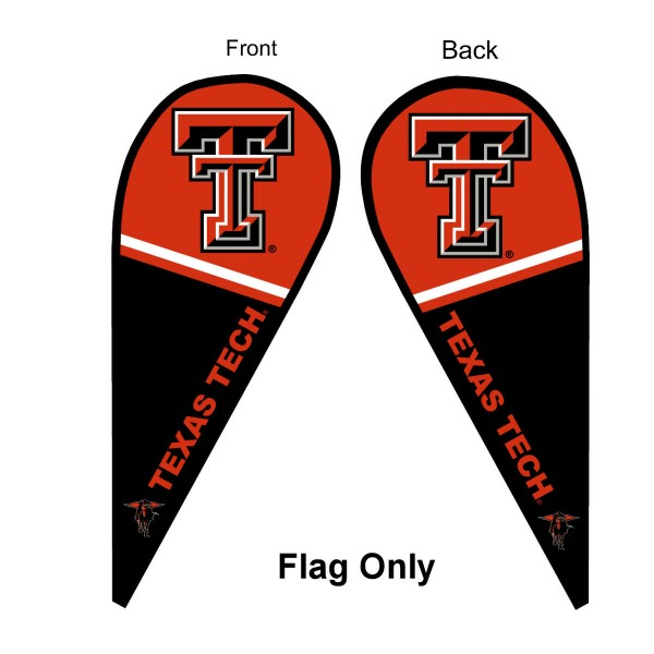 Texas Tech Teardrop Flag