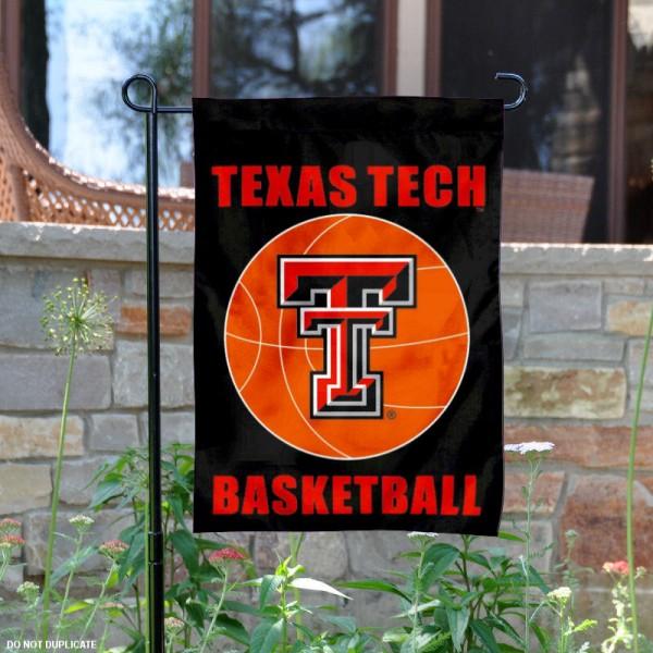 Texas Tech University Basketball Garden Flag