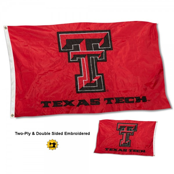 Texas Tech University Flag - Stadium