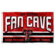 Texas Tech University Red Raiders Man Cave Dorm Room 3x5 Banner Flag