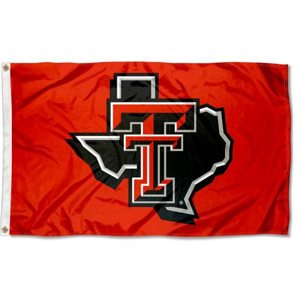 Texas Tech University TX Logo Flag