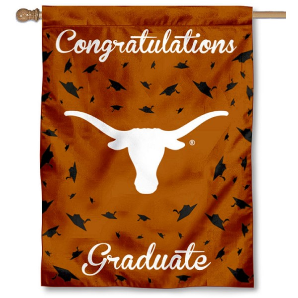 Texas UT Longhorns Graduation Banner
