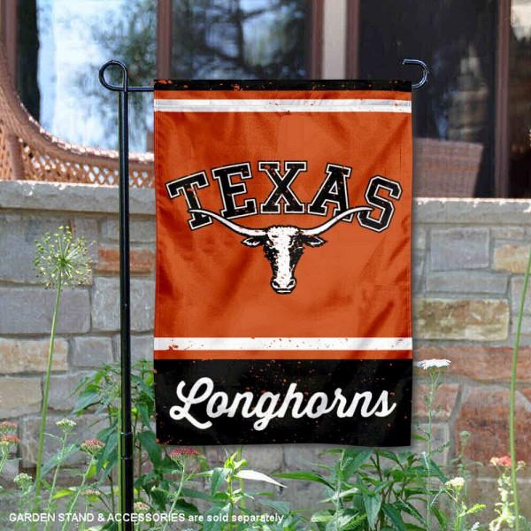 Texas UT Longhorns Retro Throwback Garden Banner
