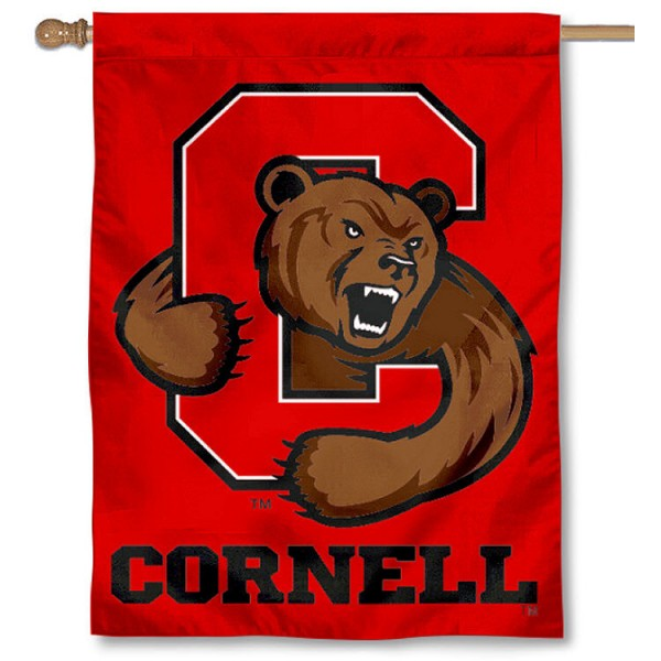 The Big Red Cornell House Flag