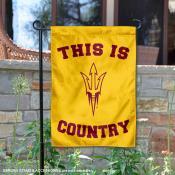 This is ASU Sun Devils Country Garden Flag
