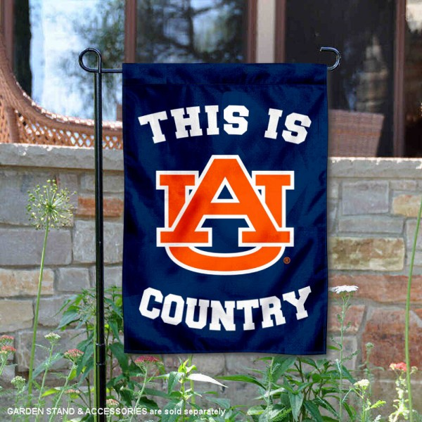 This is Auburn Country Garden Flag