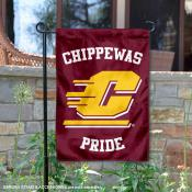 This is CMU Chippewas Country Garden Flag