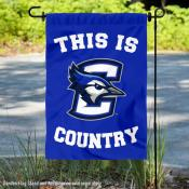 This is Creighton Jays Country Garden Flag