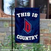 This is Duquesne Dukes Country Garden Flag