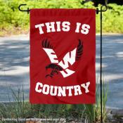 This is EWU Eagles Country Garden Flag